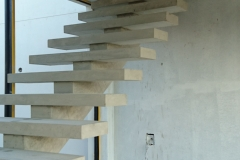 1. QUICK-STEP Floating Staircase Straight Flight - Construction Photograph