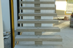 3. QUICK-STEP Floating Staircase Straight Flight - Construction Photograph
