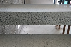 POLISHED CONCRETE CANTILEVER - Construction Photograph 1
