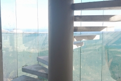 Semi-Spiral Staircase -Pinnacle Point - Construction Photograph